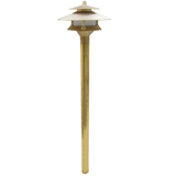 BRASS PATH LIGHT